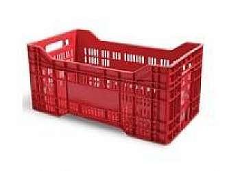 Caixa plastica agricola Sacomã
