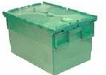 Caixa plástica com tampa Grajaú