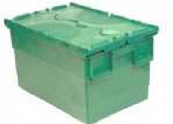 Caixa plástica com tampa Sacomã