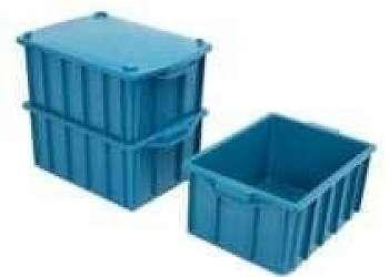 Caixa plástica empilhável Sacomã