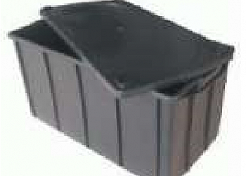 Caixa plástica fechada Brasilândia