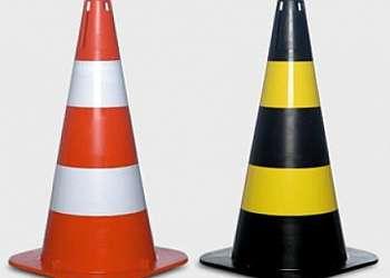 Cones de sinalização Brasilândia