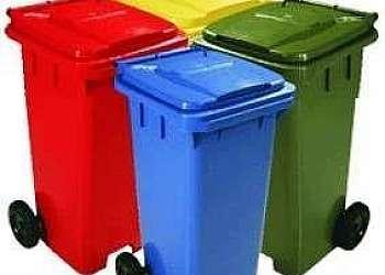 Contentor de lixo Cidade Ademar