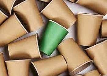 Embalagens descartáveis de papel