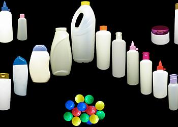 Frasco plástico para aromatizador de ambiente