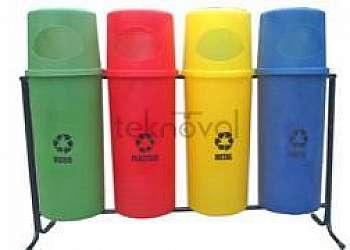 Lixeira para reciclagem Capão Redondo