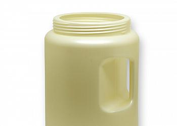 Potes de plástico para cosméticos