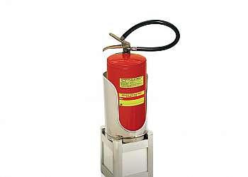 Suporte para extintor de incêndio Sacomã